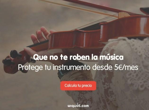 Seguro de instrumentos musicales (Wiquot)